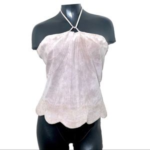 NWT Wilson's Leather 100% Suede Leather Top